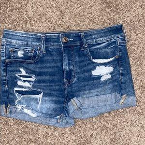 High rise American Eagle shorts sz 12